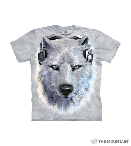 White Wolf DJ Kids T-Shirt