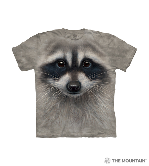 Raccoon Face Kids T-Shirt