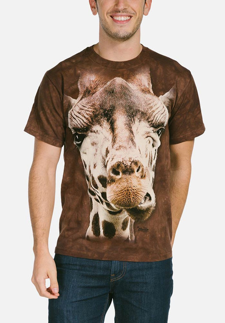 Giraffe T-Shirt Modeled
