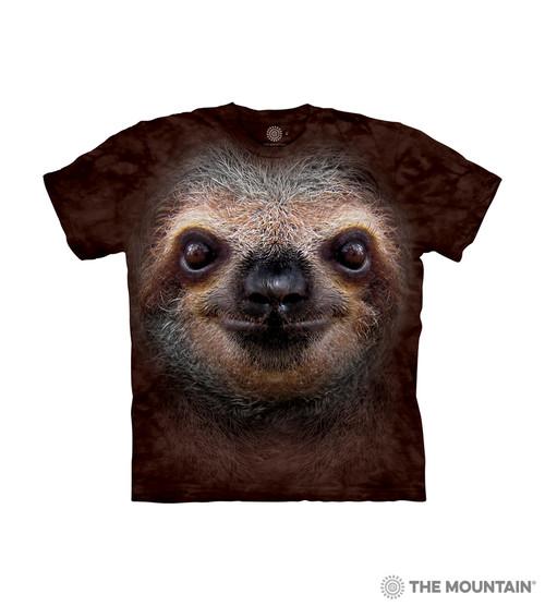 Sloth Face Kids T-Shirt