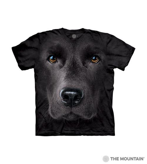 Black Lab Face Kids T-Shirt