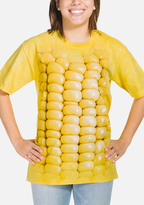 Corn on the Cob T-Shirt Modeled