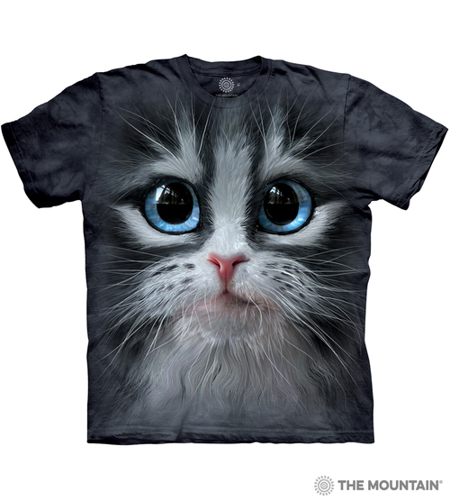 Cutie Pie Kitten Face T-Shirt