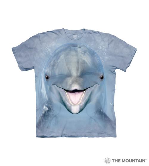 Dolphin Face Kids T-Shirt