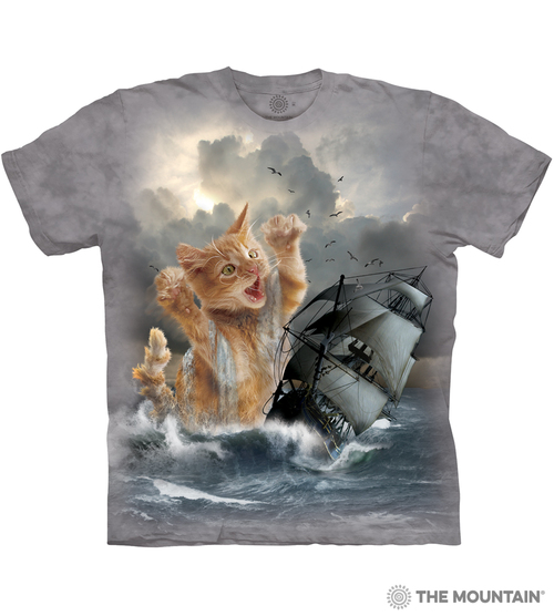 The Mountain Adult Unisex T-Shirt - Krakitten