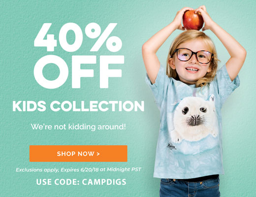 40% Off Kids Collection