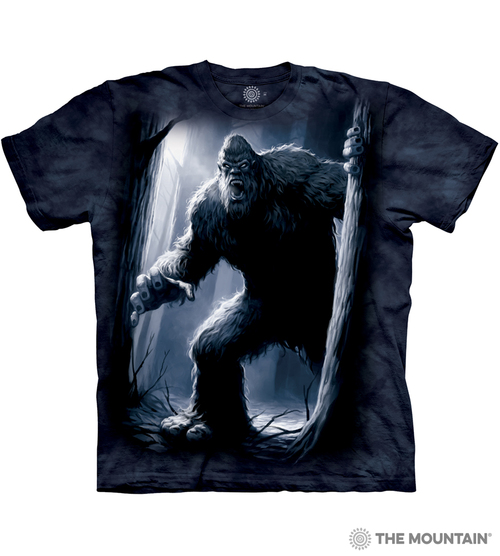The Mountain Adult Unisex T Shirt Sasquatch