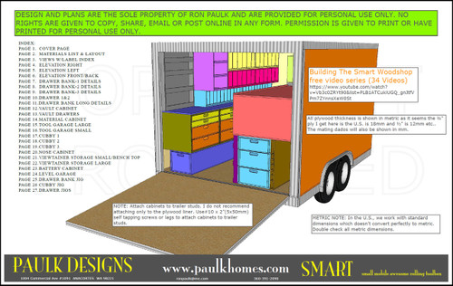 Paulk Smart Awesome Rolling Toolbox Plans
