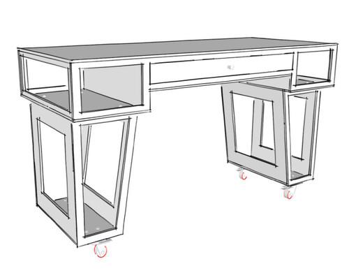 Paulk Standup Desk Plans