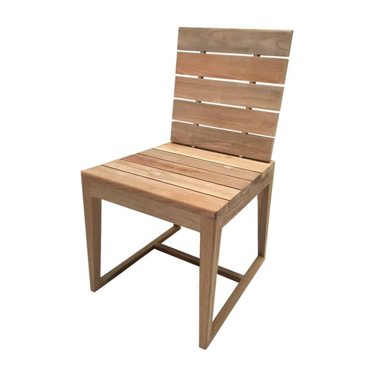 Millenia Teak Modern Dining Chair