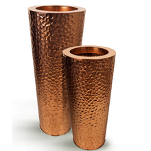 Stainless Steel Hammered Copper Planter