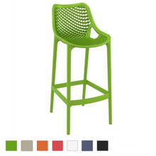 Air Resin Outdoor Bar Stool (Set of 2)