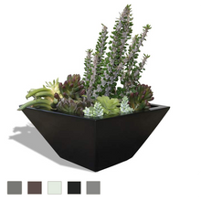 Malaga Tapered Square Tabletop Planter
