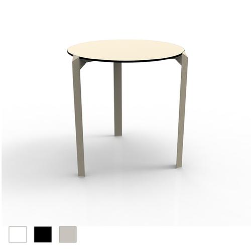 Quartz Round Tri-Leg Dining Table (Set of 2)