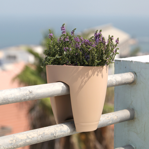 Modern Railing Planters Custom By Rushton: Railing Planter Set