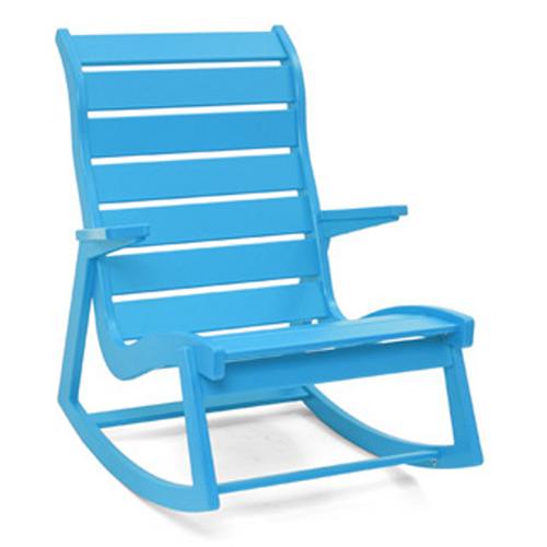 Red Rocking Chair Band ~ Loll designs modern rapson rocker high back