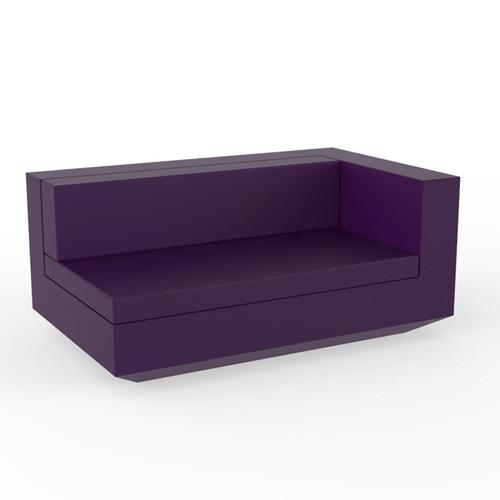 Vondom vela resin sectional sofa xl left for Sectional sofa xl