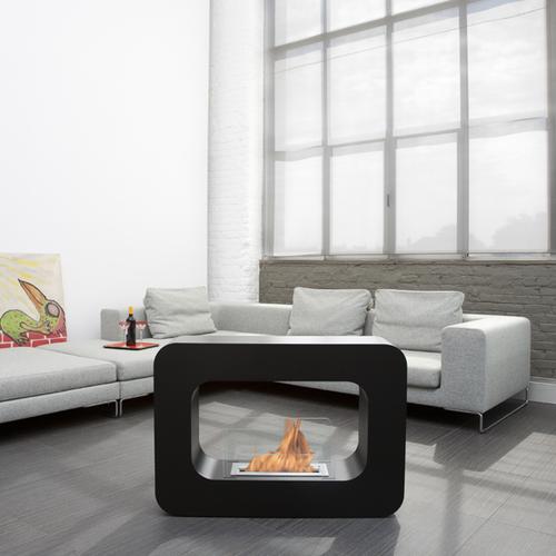 Orlando Modern Indoor/Outdoor Fireplace
