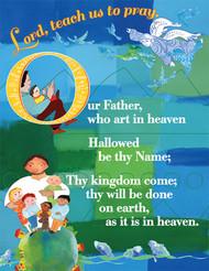 Lord's Prayer Card: Catholic Edition