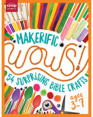 Makerific WOWS! Ages 3-7: 54 Surprising Bible Crafts (ages 3-7)
