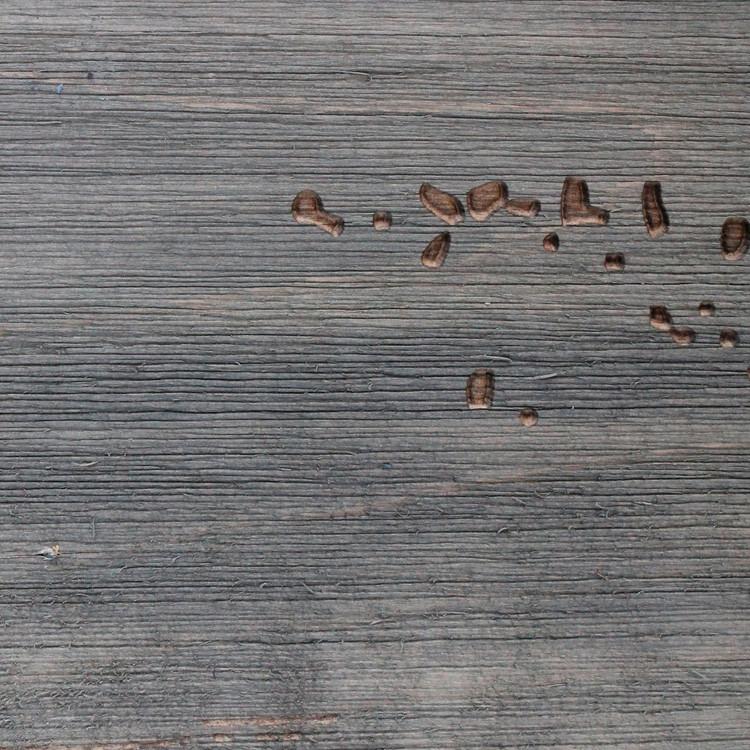 BarnWood Coal Grey Finish Sample