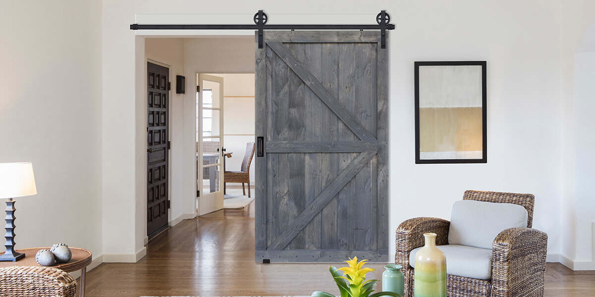 250% OFF ALL BARN DOORS ALL MONTH LONG