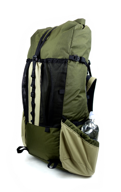 Seek Outside Divide 4500 Ultralight Backpack Right Quarter Green