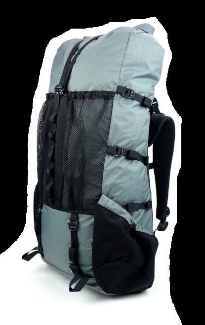 Seek Outside Divide 4500 Ultralight Backpack Right Quarter Gray