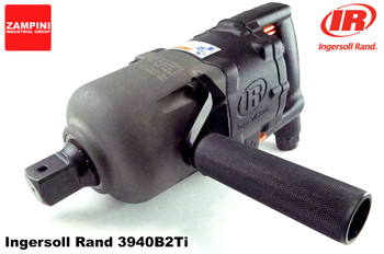 "Ingersoll Rand 3940B2Ti Titanium Super Duty Impact Wrench - 1"" - Inside Trigger D-Handle - 2500 ft. lbs. image at AirToolPro.com"