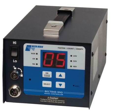 Delta Regis BECT940-SSO Counting Controller, 1 output, Hi / Lo speed, 100-240VAC