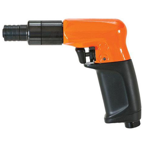 "Cleco 19PTS02Q Air Screwdriver | 18.6-2.1 nm in.lbs. | 150 mmrpm | Stall Clutch | ""P"" Handle 