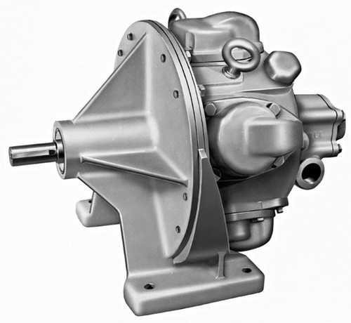 HHM Radial Piston Air Motor by Ingersoll Rand
