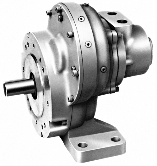 17RA008 Multi-Vane Air Motor - Spur Gear Series by Ingersoll Rand