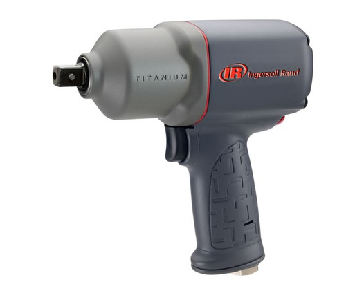 """Ingersoll Rand 2135QPTiMAX Titanium Industrial Duty Impact Wrench - 1/2""""  - 780 ft. lbs."""