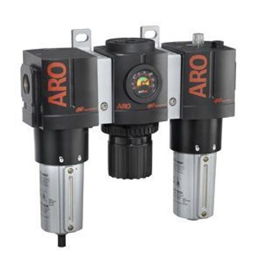 "Ingersoll Rand ARO C38121-820 Filter, Regulator, Lubricator (FRL) 1/4"" NPT | 46 CFM"
