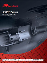 Overview brochure of the Ingersoll Rand 3900Ti Family of Super Duty Impact Wrenches.