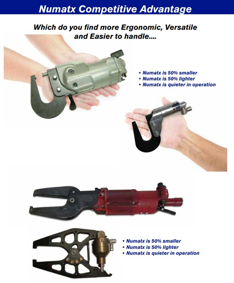 Numatx Compression Rivet Squeezer System Advantages