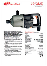 "Ingersoll Rand 3940B2Ti Super Duty 1"" Industrial Air Impact Wrench Specifications"
