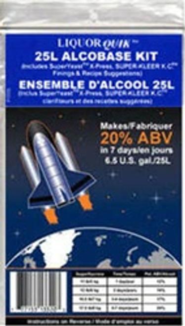 """LIQUOR QUIK Alco Base Kit"""" includes SuperYeast_ÌÎ_Ì´å¢ X-Press, Super-Kleer K.C._ÌÎ_Ì´å¢,"""