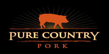 pure country pork logo