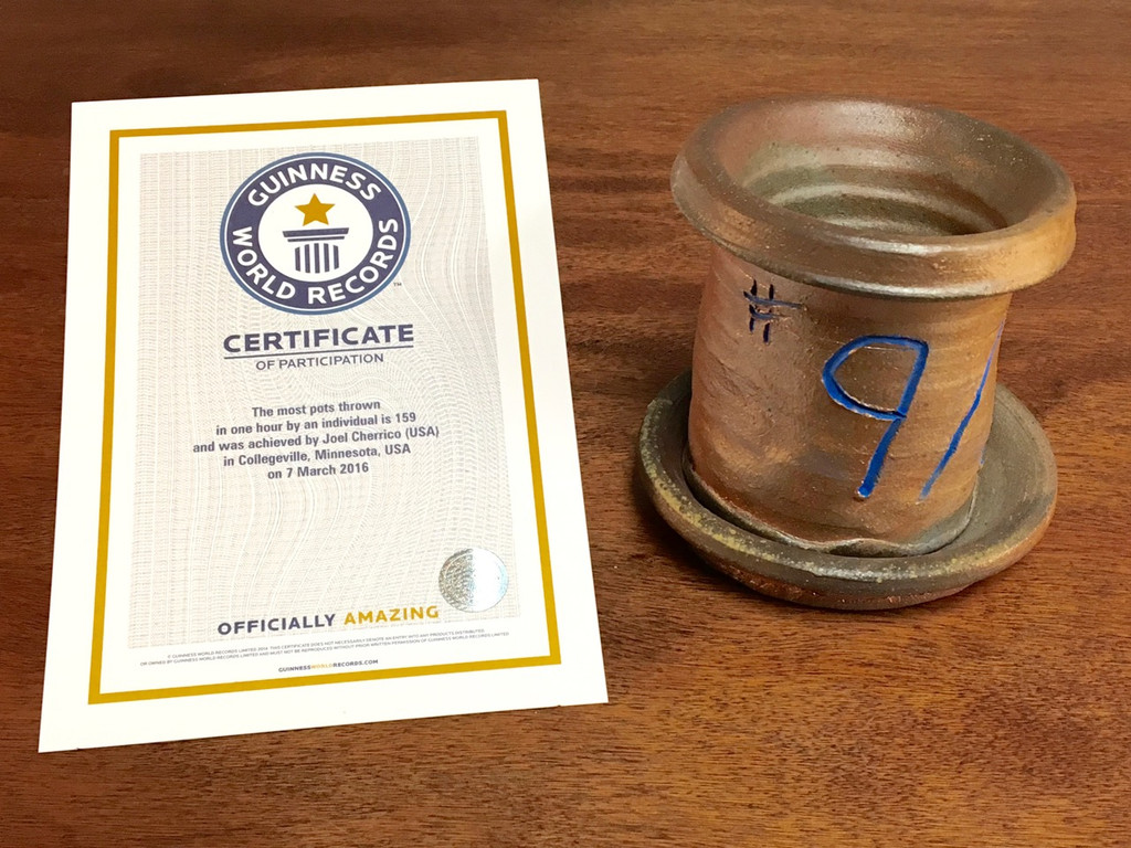 World Record Planter #9/159 and Certificate of Authenticity