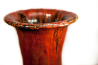 Copper Red Jar, Roughly 34 Inches Tall by 14 Inches Wide: $17,995