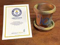 World Record Planter #10/159 and Certificate of Authenticity