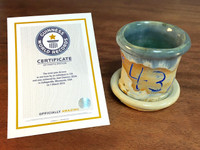 World Record Planter #43/159 and Certificate of Authenticity