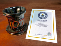World Record Planter #107/159 and Certificate of Authenticity