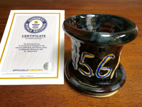 World Record Planter #156/159 and Certificate of Authenticity