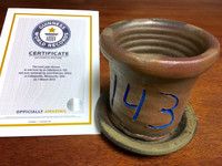 World Record Planter #143/159 and Certificate of Authenticity