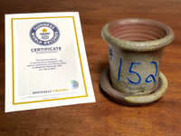 World Record Planter #152/159 and Certificate of Authenticity