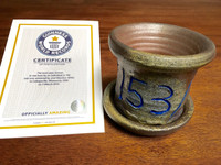 World Record Planter #153/159 and Certificate of Authenticity