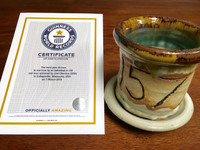 World Record Planter #157/159 and Certificate of Authenticity
